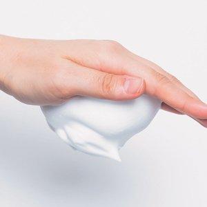 洗顔時の泡のお手本