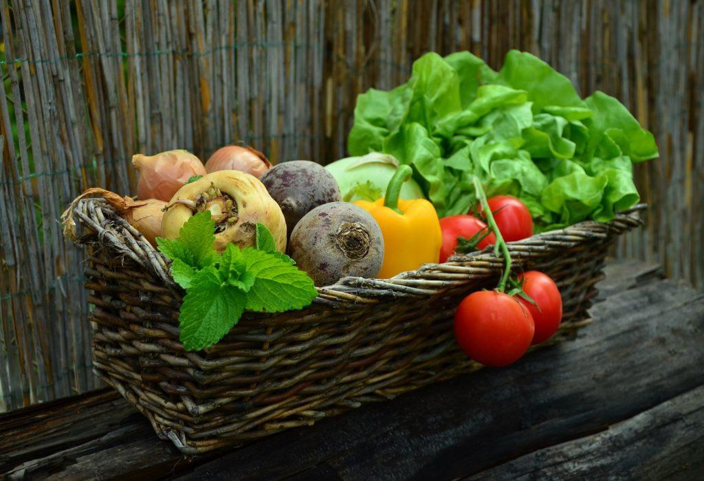 ビタミンを含む野菜
