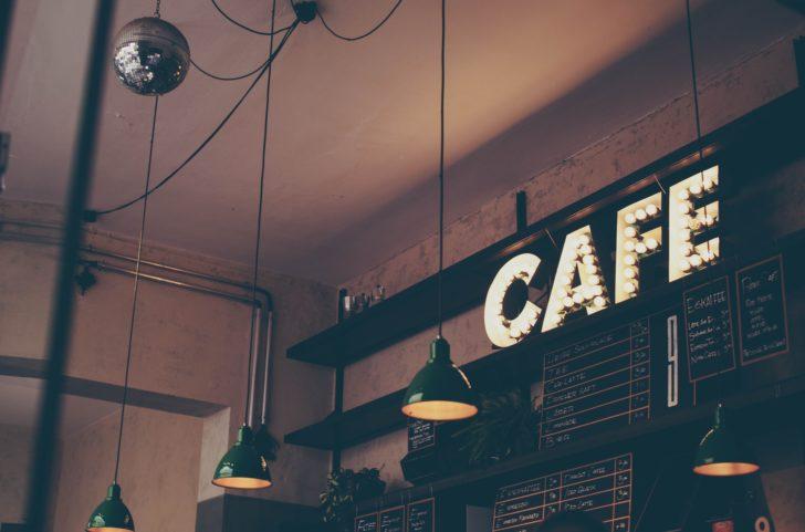 お洒落なカフェの料金表