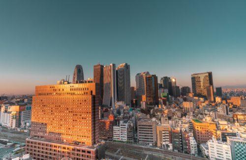 新宿の風景